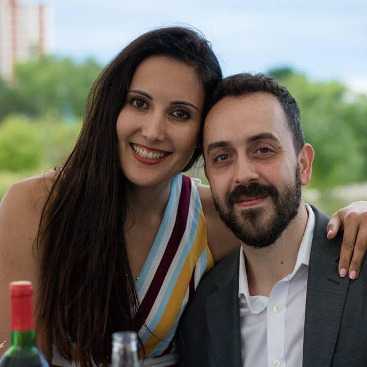 Eric and Susana